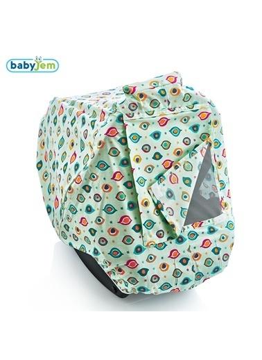 Babyjem Ana Kucağı Örtüsü  Gözlü-Baby Jem